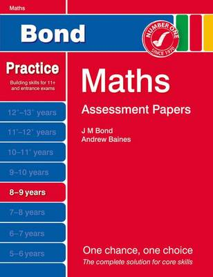Bond Assessment Papers Maths 8-9 Yrs by Andrew Baines