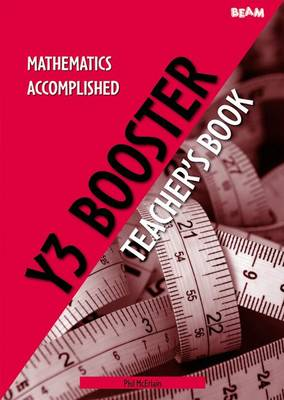 Mathematics Accomplished Year 3 Booster Pack by