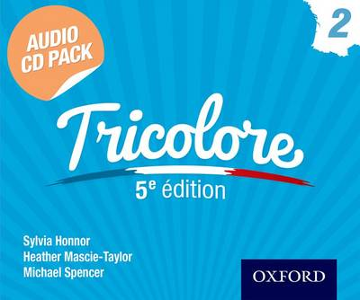 Tricolore 5e edition Audio CD Pack 2 by Sylvia Honnor, Heather Mascie-Taylor, Michael Spencer