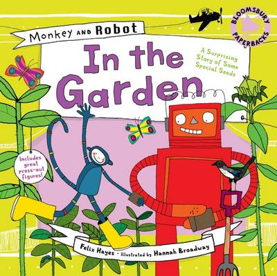 Monkey and Robot: In the Garden by Felix Hayes