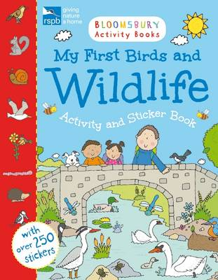 RSPB My First Birds and Wildlife Activity and Sticker Book by