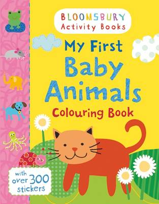 My First Baby Animals Colouring Book by