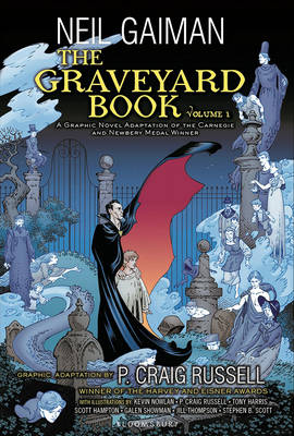 Graveyard Book Graphic Novel by Neil Gaiman