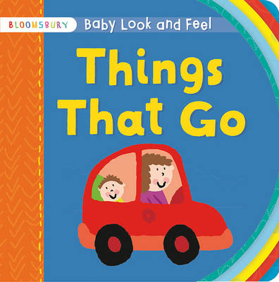 Baby Look and Feel Things That Go by Simon Abbott