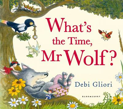 What's the Time, Mr Wolf? Big Book by Debi Gliori