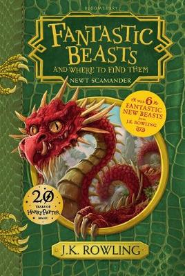 Fantastic Beasts & Where to Find Them Hogwarts Library Book by J. K. Rowling