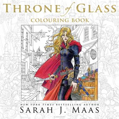 The Throne of Glass Colouring Book by Sarah J. Maas