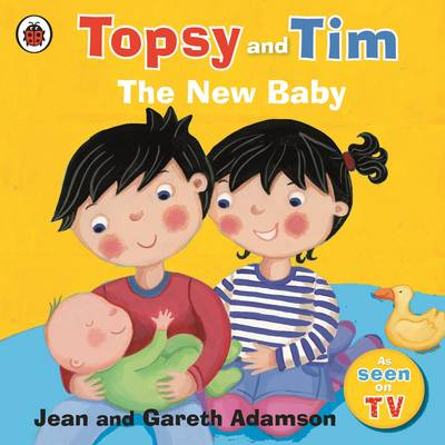Topsy and Tim: The New Baby by Jean Adamson