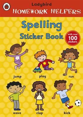 Ladybird Homework Helpers: Spelling Sticker Book by