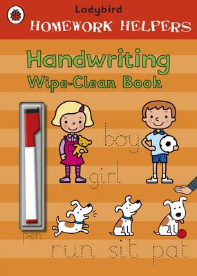 Ladybird Homework Helpers: Handwriting Wipe-Clean Book by