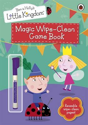 Magic Wipe-clean Game Book by
