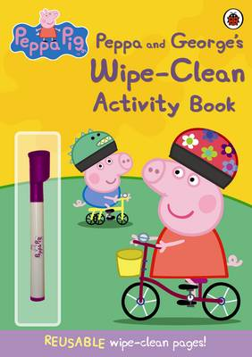 Peppa Pig: Peppa and George's Wipe-clean Activity Book by