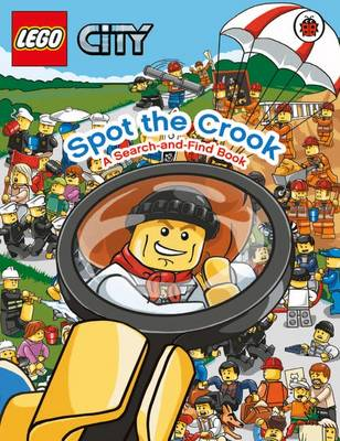 LEGO City: Spot the Crook: A Search and Find Book by
