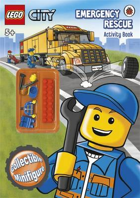 LEGO City: Emergency Rescue Activity Book with LEGO Minifigure by