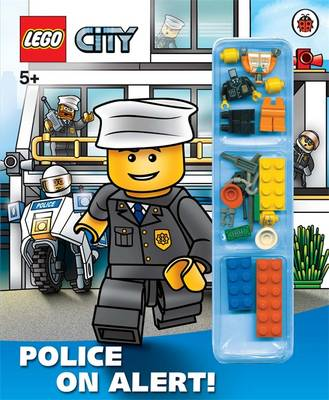 LEGO CITY: Police on Alert! Storybook with Minifigures and Accessories by