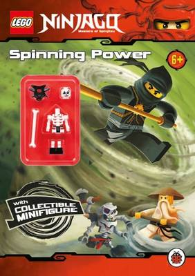 LEGO Ninjago: Spinning Power Activity Book with Minifigure by