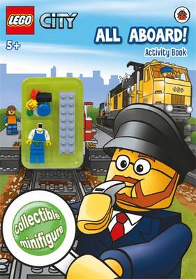 LEGO CITY: All Aboard! Activity Book with Minifigure by