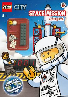 LEGO CITY: Space Mission Activity Book with Minifigure by