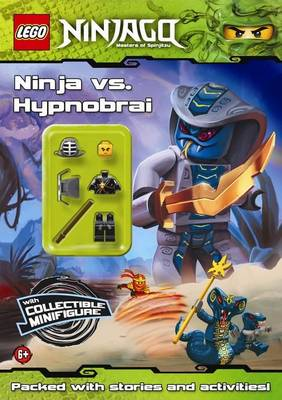 LEGO Ninjago: Ninja vs Hypnobrai Activity Book with Minifigure by