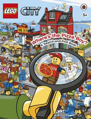LEGO CITY Where's the Pizza Boy? A Search-and-Find Book by
