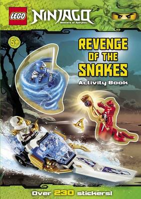 Lego Ninjago: Revenge of the Snakes Sticker Activity by