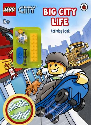 LEGO CITY: Big City Life Activity Book with Minifigure by