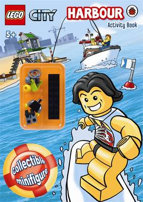 LEGO CITY: Harbour Activity Book with Minifigure by