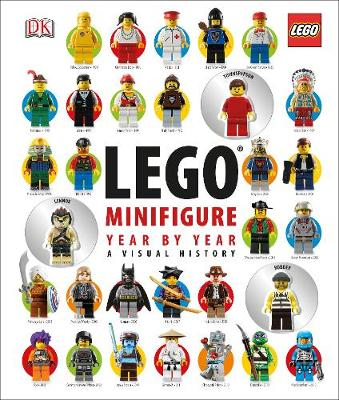 LEGO Minifigure Year by Year a Visual History by DK, Gregory Farshtey, Daniel Lipkowitz
