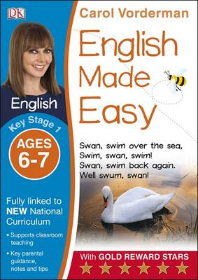 English Made Easy Ages 6-7 Key Stage 1 by Carol Vorderman