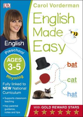 English Made Easy Rhyming Preschool Ages 3-5 by Carol Vorderman
