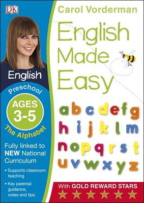 English Made Easy The Alphabet Preschool Ages 3-5 by Carol Vorderman