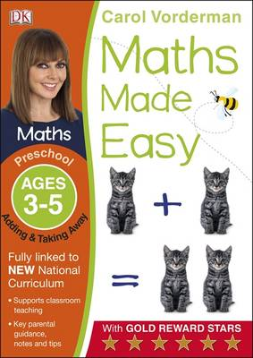 Maths Made Easy Adding And Taking Away Preschool Ages 3-5 by Carol Vorderman
