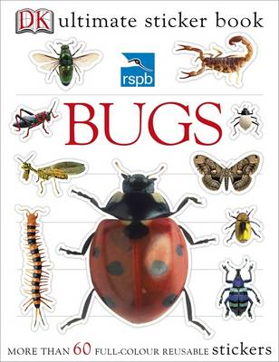 RSPB Bugs Ultimate Sticker Book by DK