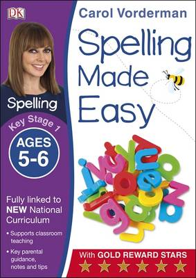 Spelling Made Easy Year 1 by Carol Vorderman