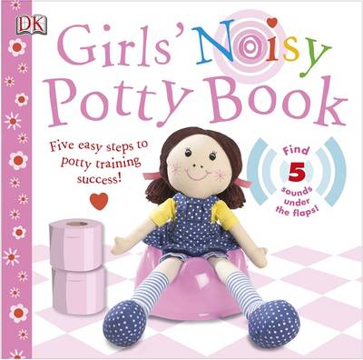 Girls' Noisy Potty Book by DK