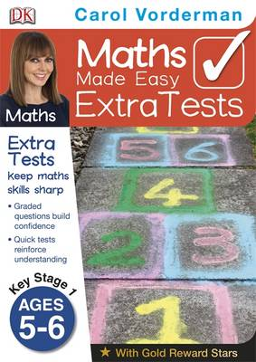 Maths Made Easy Extra Tests Age 5-6 by Carol Vorderman