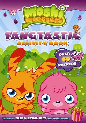Moshi Monsters Fangtastic Activity Book with Stickers by Sunbird