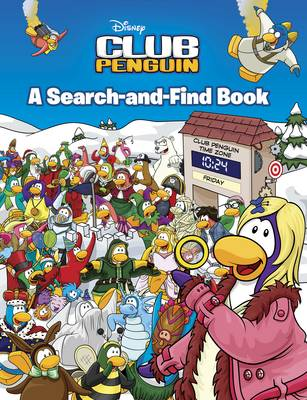 Club Penguin: A Search-and-Find Book by
