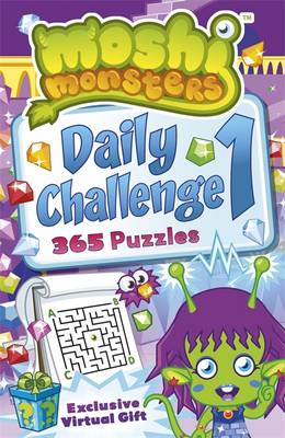 Moshi Monsters: Daily Challenge Puzzle Book 365 Puzzles by Tamara Tesla