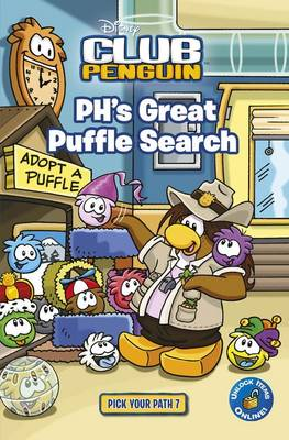 Club Penguin Pick Your Path 7: PH's Great Puffle Search by