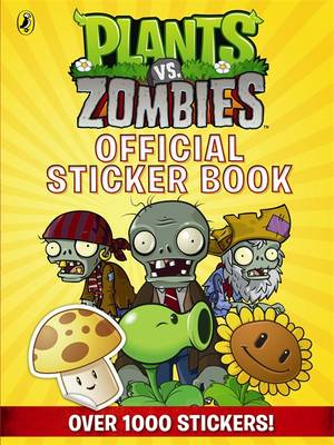 Plants vs. Zombies Official Sticker Book by