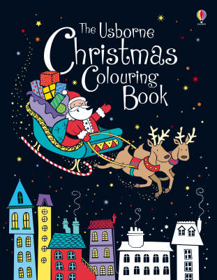 Christmas Colouring Book by Candice Whatmore