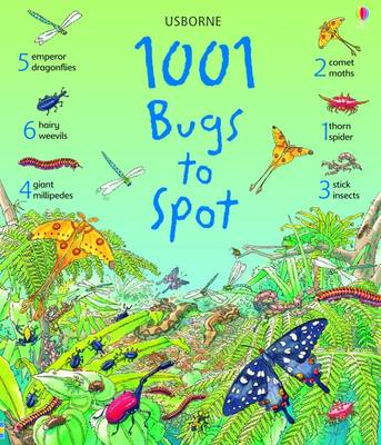 1001 Bugs Things to Spot by Emma Helborough