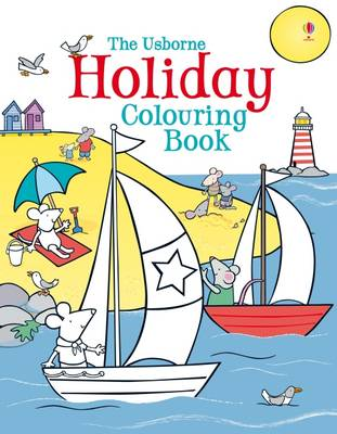 Holiday Colouring Book by Kirsteen Rogers