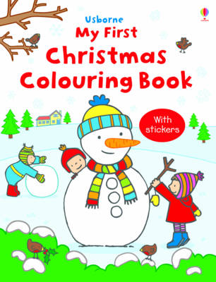 My First Christmas Colouring Book by Jessica Greenwell