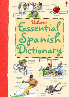 Essential Dictionary Spanish by Nicole Irving