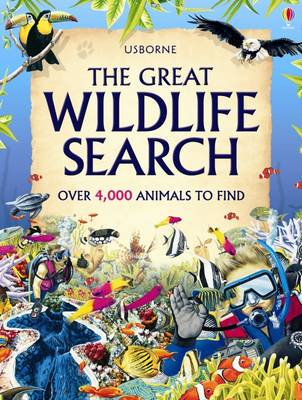 The Great Wildlife Search by Caroline Young, Kate Needham
