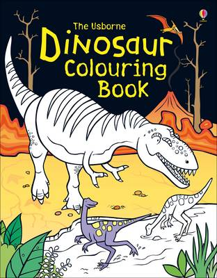 Dinosaur Colouring Book by Candice Whatmore