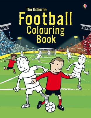 Football Colouring Book by Kirsteen Rogers