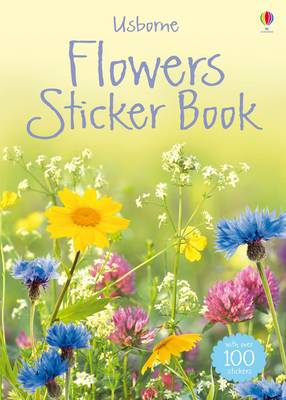 Flowers Sticker Book by Lisa Miles